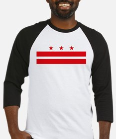 District of Columbia Flag Baseball Jersey