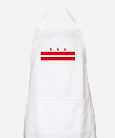District of Columbia Flag BBQ Apron