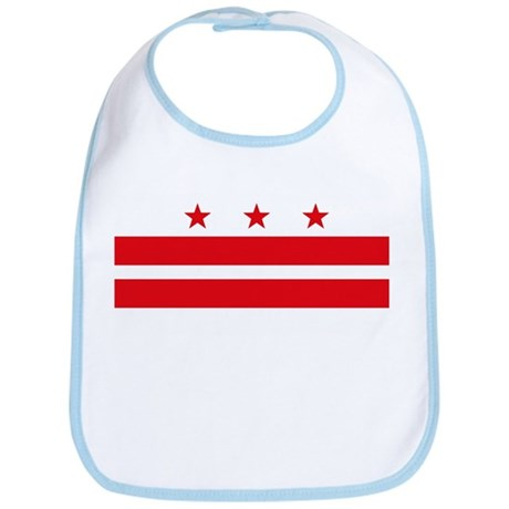 District of Columbia Flag Bib