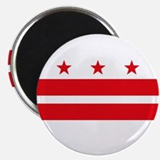 "District of Columbia Flag 2.25"" Magnet (10 pack)"