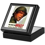 You Voted For WHO? Keepsake Box