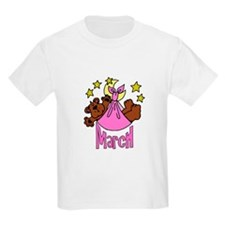 Baby Girl Due MArch Kids T-Shirt
