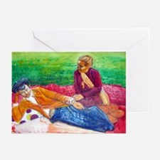 Javanese Couple Greeting Cards (Pk of 10)