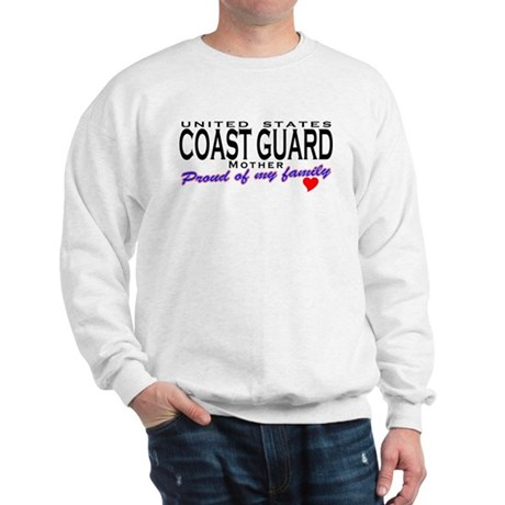 Coast Guard Family Mom Sweatshirt