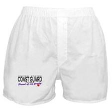 Proud Coast Guard Dad Boxer Shorts