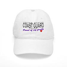 Proud Coast Guard Dad Baseball Cap