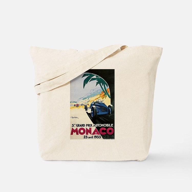 Monaco 5th Grand Prix Automobile 1933 Tote Bag