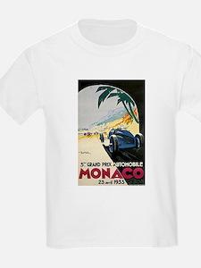 Monaco 5th Grand Prix Automobile 1933 T-Shirt