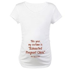 Pregnant Halloween costume Shirt