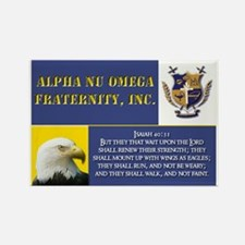 ANQ Eagles Rectangle Magnet