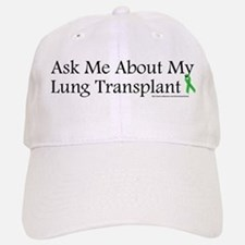Ask Me Lung Baseball Baseball Cap