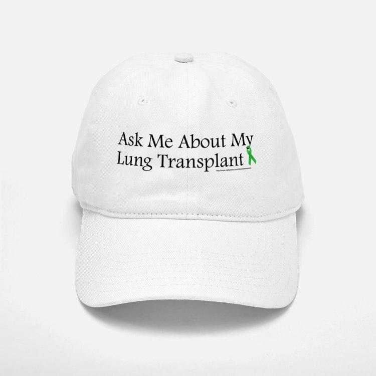 Ask Me Lung Baseball Baseball Cap