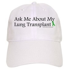 Ask Me Lung Baseball Cap