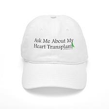 Ask Me Heart Baseball Cap
