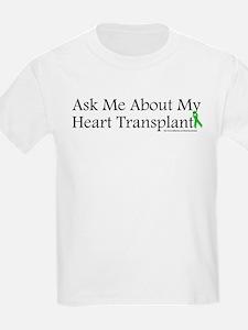 Ask Me Heart Kids T-Shirt