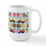 Polka Dot Cupcakes Large Mug