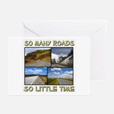 So Many Roads, So Little Time Greeting Cards (Pack