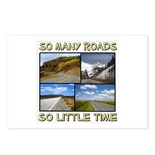 So Many Roads, So Little Time Postcards (Package o