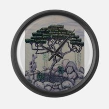 Shanghai Bonsai Large Wall Clock