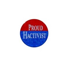 Proud Hactivist Mini Button