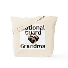 NG Grandma Heart Camo Tote Bag