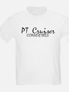 PT Cruiser Convertible Kids T-Shirt