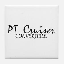PT Cruiser Convertible Tile Coaster