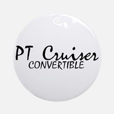 PT Cruiser Convertible Ornament (Round)