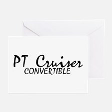 PT Cruiser Convertible Greeting Cards (Package of