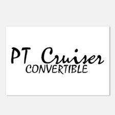PT Cruiser Convertible Postcards (Package of 8)