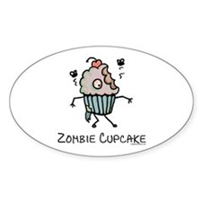 Zombie cupcake Decal
