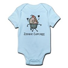 Zombie cupcake Infant Bodysuit