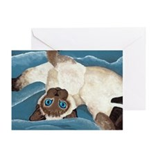 Siamese Kitten Greeting Cards (Pk of 10)
