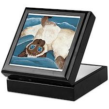 Siamese Kitten Keepsake Box