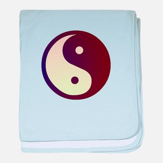 Prismatic Yin Yang Infant Blanket