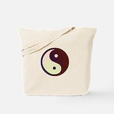 Prismatic Yin Yang Tote Bag