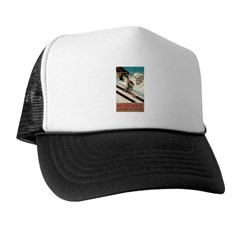 Norway The Home Of Skiing Trucker Hat