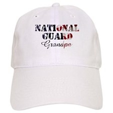 National Guard Grandpa Flag Baseball Cap