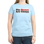 The Stones Are Clones Women's Pink T-Shirt