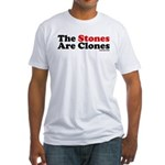 The Stones Are Clones Fitted T-Shirt