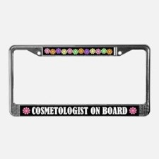 Cosmetologist License Plate Frame