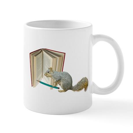 Squirrel with Pencil Mug