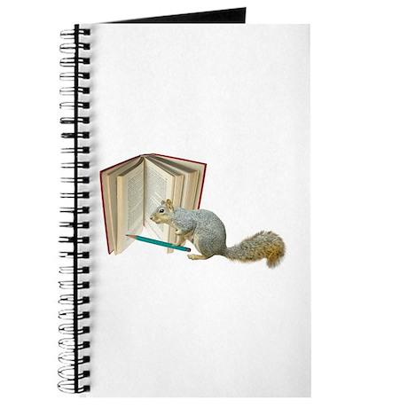 Squirrel Pencil Book Journal