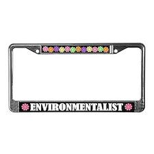 Environmentalist License Plate Frame