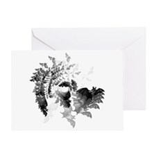 Vampire Bats Greeting Card