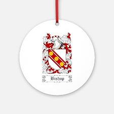 Bishop Ornament (Round)