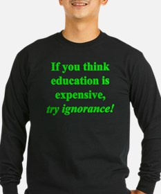 Education quote (green) T