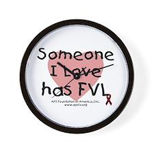 Someone I love has FVL Wall Clock