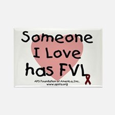 Someone I love has FVL Rectangle Magnet (10 pack)