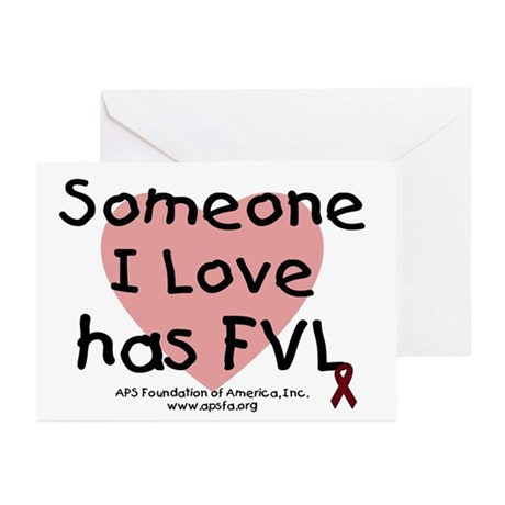 Someone I love has FVL Greeting Cards (Pk of 10)
